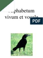 Alphabetum Vocale ex scriptis Johannis Comenii