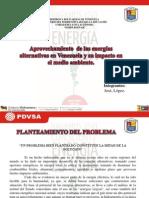 Energías alternativas en Venezuela.