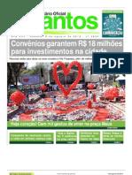 Açao Coração Santos 2013