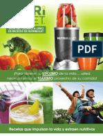 Recetas de Bebidas Nutribullet