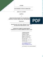 Glossip v. MODOT & Highway Patrol Employees' Retirement System
