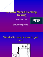 Manual Handling Web