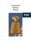 Transitional Ministry Manual Parts 1 and 2