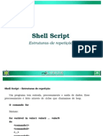Shell Estruturas Repeticao