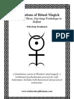 Ritual Magick Workshop Belfast
