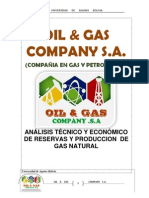 Oil & Gas Compay Informe UDABOL ..Explotacion de GAs