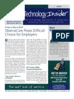 UHY Technology Newsletter - July 2013