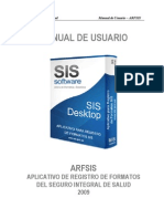 Manual de Usuario ARFSIS 2.1