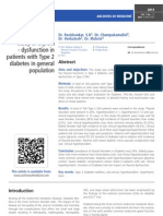 A prospective study of thyroid - dysfunction in patients with Type 2 diabetes in general population