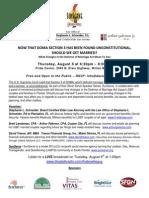 DOMA Presentation - Aug. 8, 2013