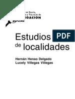 Estudio de Localidades