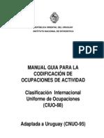 Codificacion Ciuo88 Uruguay