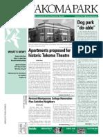 Takoma Park Newsletter - August 2013