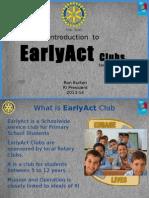 EarlyAct Presentation