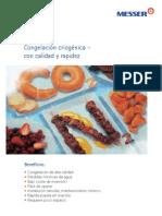Congelacion Criogenica de Alimentos