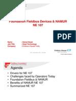 Namur 107 Fieldbus Foundation