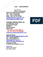Address Agency & Directors