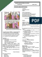 avaliação portugues II unidade 5º ano.docx