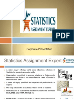 Statistics Assignment Experts