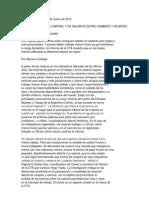 Pagina 12 Como Es La Brecha Laboral y de Salarios Entre Hombres y Mujeres