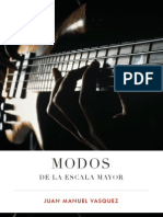 Modos de La Escala Mayor