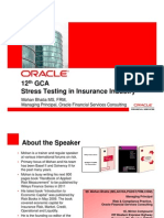 Stress Testing in Insurance Industry_Mohan Bhatia