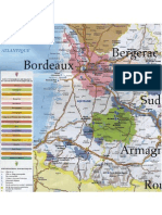 Map of Aquitaine Vineyard