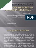 Papel Del Ing. Industrial