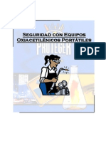 Seguridad Equipos Oxiacetilenicos Portatiles