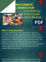 Pharmakokinetic Drug Interaction