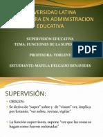 Funciones de La Supervision