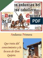 Andanzas de Don Quijote