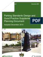 Planning Parking Standards Design and Good Practice