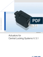 Flc Actuators for Central Locking Systems En