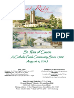 St. Rita Parish Bulletin