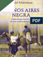 SCHÁVELZON, D. Buenos Aires negra