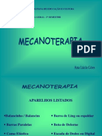 MECANOTERAPIA - Utilização dos Aparelhos