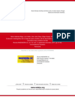 Evaluación metalográfica de la chapa de acero al silicio y de los devanados del núcleo del transform