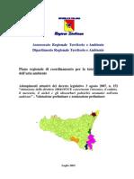 PIANO ARIA REGIONE SICILIA Zonizzazione Preliminare Sicilia IPA Meta