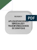 Bloque 2 (Funciones Especiales y Transformaciones de Gráficas)