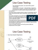 Qa Training Use Case Testing