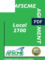 AFSCME 2700 Agreement