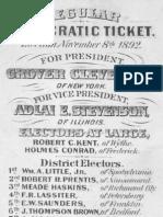 Democratic Ticket