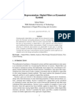 Digital Filters as Dynamical Systems