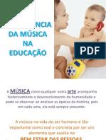 Importância da Música na Educação