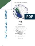Apostila UDESC Preparatória para o Vestibular Matemática Física Química