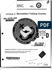 NAVEDTRA 12061 Catalog of Nonresident Training Courses. 1994