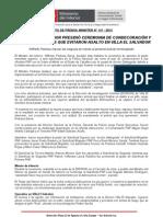 MINISTRO DEL INTERIOR PRESIDIÓ CEREMONIA DE CONDECORACIÓN Y ASCENSO A POLICÍAS QUE EVITARON ASALTO EN VILLA EL SALVADOR