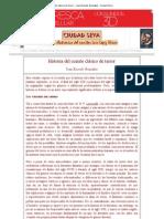 Historia del cuento clásico de terror - Joan Escudé González - Ciudad Seva