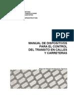 Manual de Dispositivos para el Control del tránsito en calles y carreteras (Completo)